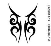vector tribal tattoo designs.... | Shutterstock .eps vector #601105067