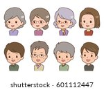 people pose | Shutterstock .eps vector #601112447