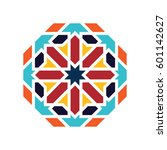 islamic pattern. vector... | Shutterstock .eps vector #601142627