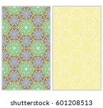 vertical seamless patterns set  ...   Shutterstock .eps vector #601208513