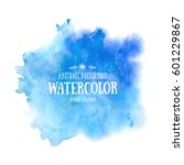 Blue Abstract Watercolor...