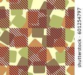 seamless pattern. fashionable... | Shutterstock .eps vector #601254797