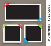 collection of  photo frame with ...   Shutterstock .eps vector #601272083