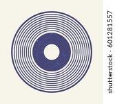 vinyl record style  lp record... | Shutterstock .eps vector #601281557