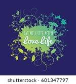 graphic design illustration... | Shutterstock .eps vector #601347797