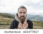 bearded man  long beard  brutal