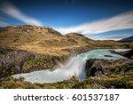 long exposure of the salto... | Shutterstock . vector #601537187