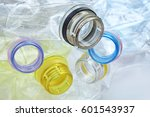 close up shot of stack of... | Shutterstock . vector #601543937