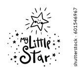 my little star card. bright...
