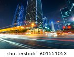 traffic through the modern city | Shutterstock . vector #601551053