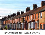 English Row Terraced House In...