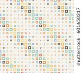 seamless halftone square...   Shutterstock .eps vector #601650317