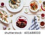 Assortment Of Restaurant Serve...