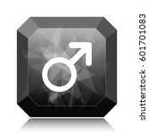 male sign icon  black website... | Shutterstock . vector #601701083
