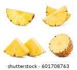 pineapple fruit isolated on...   Shutterstock . vector #601708763