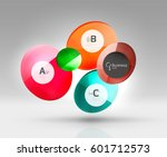 circle modern business... | Shutterstock .eps vector #601712573