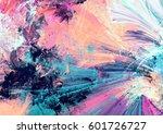 cold multicolor beautiful... | Shutterstock . vector #601726727