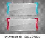 sci fi future design glass... | Shutterstock .eps vector #601729037
