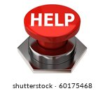 help button   Shutterstock . vector #60175468