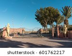 Small photo of OUARZAZATE, MOROCCO - JANUARY 5, 2017: Atlas Studios is a film studio located 5 km west of the city of Ouarzazate. Measured by acreage, it is the world's largest film studio.