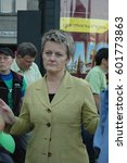 Small photo of Renate Elly Kuenast, German politician, the Greens, speaks in Berlin Charlottenburg on September 15, 2006, Germany