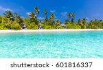 Exotic Tropical Beach Landscap...