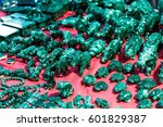 rare gems and minerals on a... | Shutterstock . vector #601829387