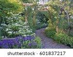 Brick Pathway Through A Countr...