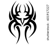 tribal tattoo art designs.... | Shutterstock .eps vector #601917227