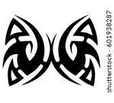 vector tribal tattoo designs.... | Shutterstock .eps vector #601938287