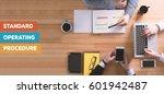 standard operating procedure...   Shutterstock . vector #601942487