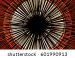 geometric circle abstract... | Shutterstock . vector #601990913