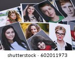 photo printing products  a... | Shutterstock . vector #602011973