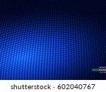 Halftone Dots Pattern Tech Blu...