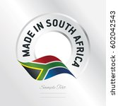 made in south africa... | Shutterstock .eps vector #602042543