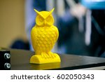 object printed on a 3d printer... | Shutterstock . vector #602050343