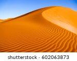 Desert Sand Dunes Ripples