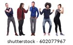 group of people | Shutterstock . vector #602077967