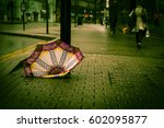 Discarded Umbrella In The...