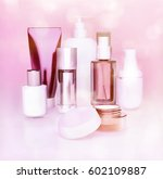 set of cosmetic cream. daily ...   Shutterstock . vector #602109887