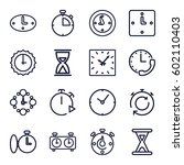 second icons set. set of 16...   Shutterstock .eps vector #602110403