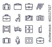 case icons set. set of 16 case...   Shutterstock .eps vector #602117327
