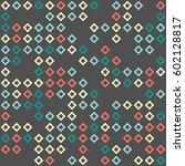 geometric pattern design | Shutterstock .eps vector #602128817