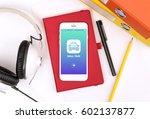 call taxi service icon...   Shutterstock . vector #602137877