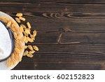fresh italian pasta  form of... | Shutterstock . vector #602152823