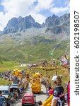 Small photo of COL DU GLANDON, FRANCE - JUL 23: Mc Cain caravan during the passing of the Publicity Caravan on Col du Glandon in Alps in the stage 18 of Le Tour de France 2015.
