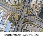 aerial photography bird eye... | Shutterstock . vector #602248223