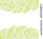 beautiful nature background.... | Shutterstock .eps vector #602250827