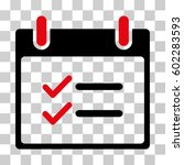 check items calendar day icon....