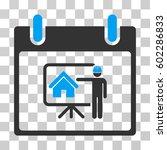 realty developer calendar day...   Shutterstock .eps vector #602286833